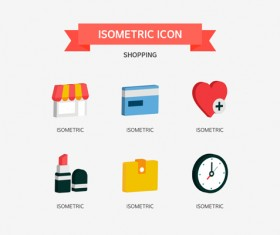 Shopping Isometric Icon 01