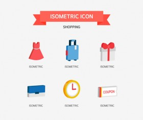Shopping Isometric Icon 02