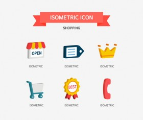Shopping Isometric Icon 03