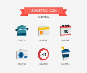 Shopping Isometric Icon 04