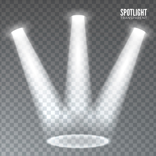 spotlights effects vector illustration vector other free