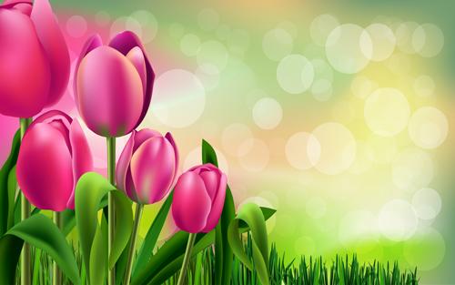 Spring flower beautiful backgrounds vectors 04 free download spring flower beautiful backgrounds vectors 04 mightylinksfo