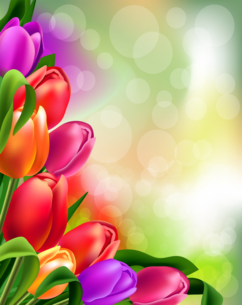 Spring flower beautiful backgrounds vectors 08 vector background spring flower beautiful backgrounds vectors 08 voltagebd Images