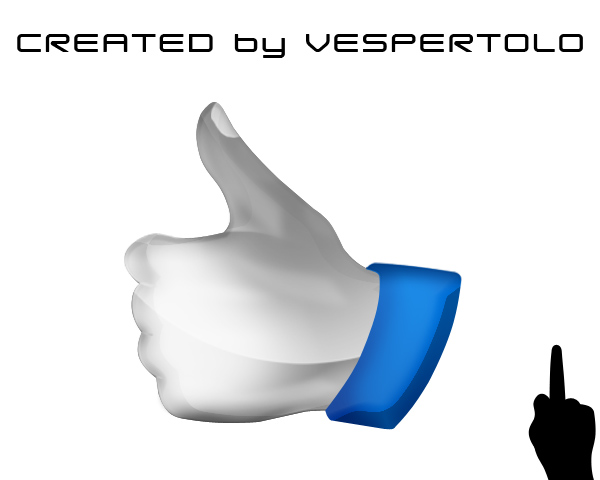 Thumbs up Psd File
