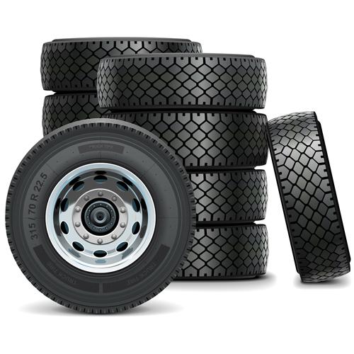 vector truck tires material vector car free download. Black Bedroom Furniture Sets. Home Design Ideas