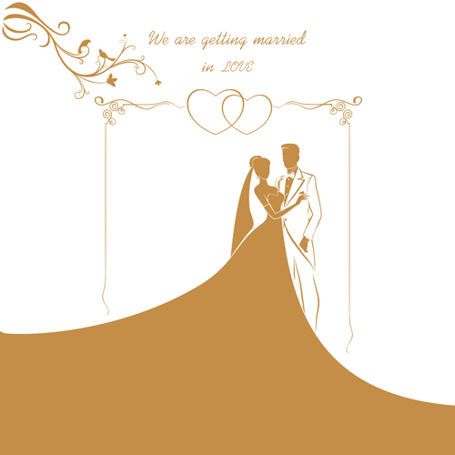 Wedding gold invitation card vector 01 vector card free download wedding gold invitation card vector 01 stopboris Image collections