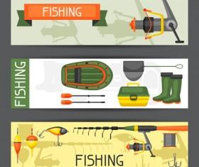 fishing supplies vector illustration vector 07