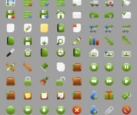 free web vector icons set