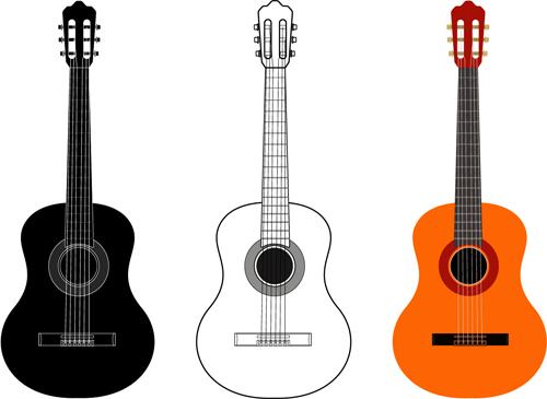3kind colored guitar vector free download Pizza Food Clip Art Dinner Clip Art