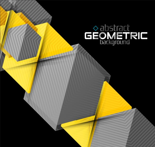 Abstract geometric background modern vector 04
