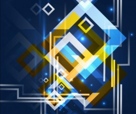 Abstract geometrical art background vector 01