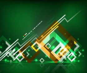 Abstract geometrical art background vector 02