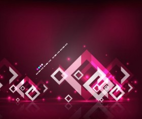 Abstract geometrical art background vector 03