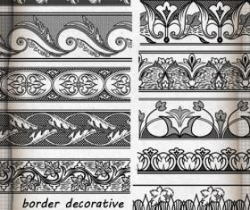 Border decorative brushes