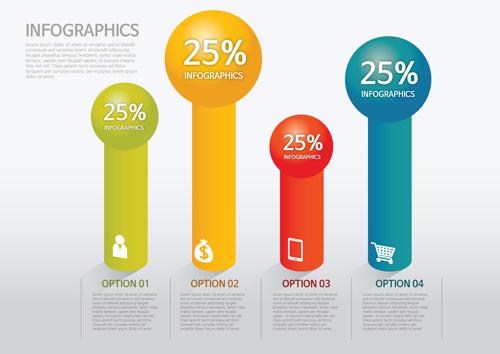 Business Infographic creative design 4225