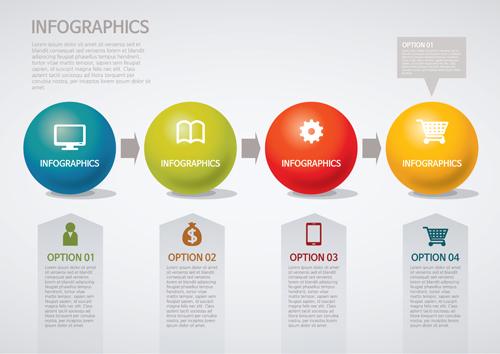 Business Infographic creative design 4229