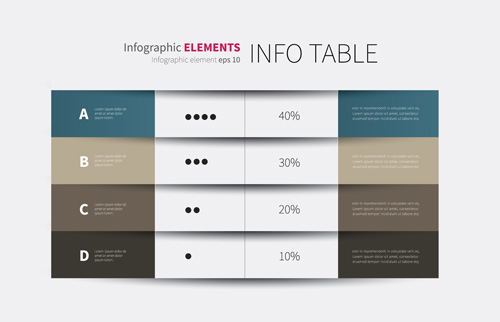 Business Infographic creative design 4256