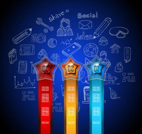 Business Infographic creative design 4291