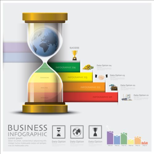 Business Infographic creative design 4297