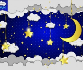 cartoon night vector wallpaper - photo #31