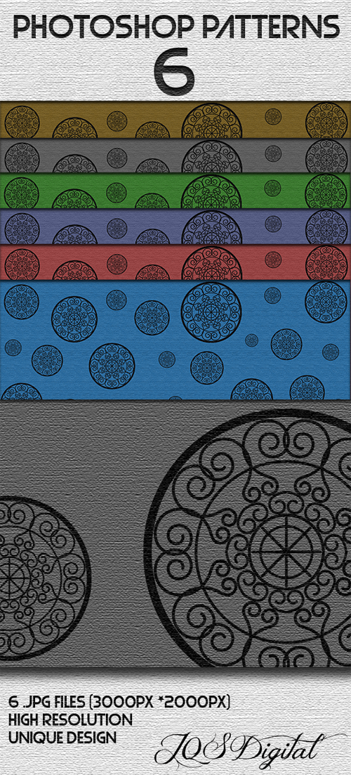 Classical Geometrical Photoshop Patterns