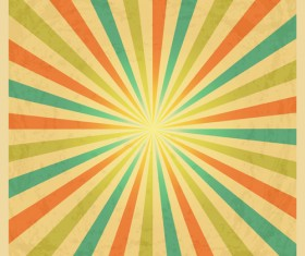 Colored explosion abstract background vector 06