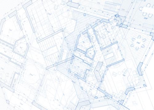 Construction building blueprint design vector 02 vector construction building blueprint design vector 02 malvernweather Gallery