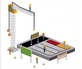 Creative Isometric technology tamplate vector 03