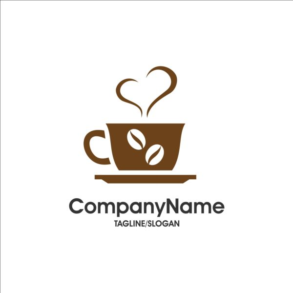 coffee and cafe logos design vector 04 - Vector Food, Vector Logo ...