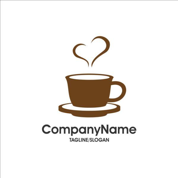 Creative coffee and cafe logos design vector 06 - Vector