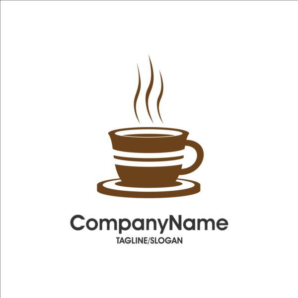 Creative coffee and cafe logos design vector 07