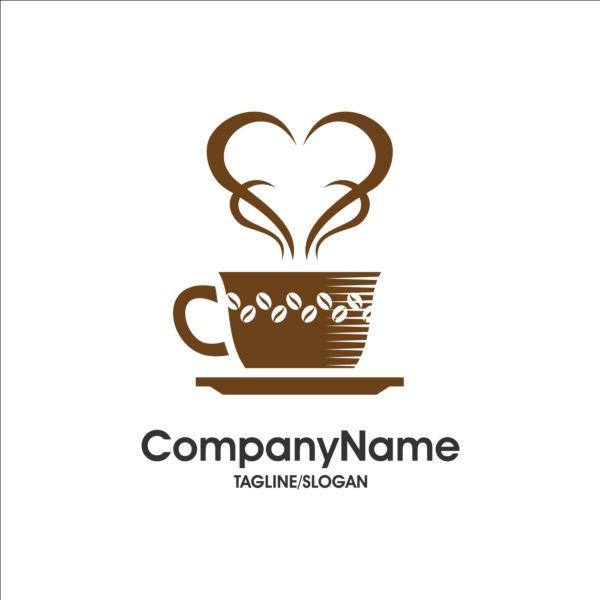 Creative coffee and cafe logos design vector 14
