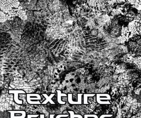 Diverse texture photoshop brushes