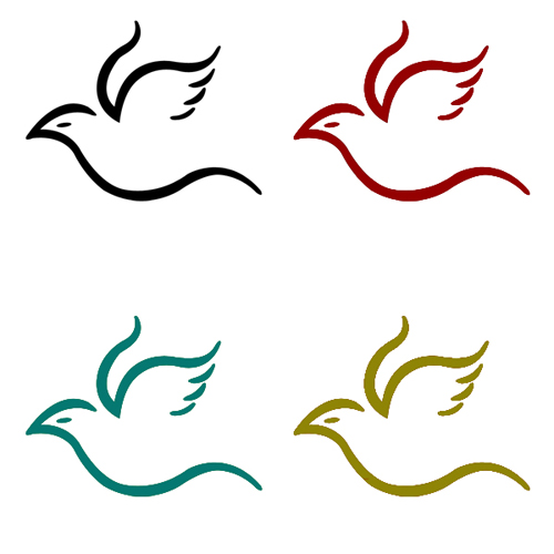 Flying Bird PSD Logo - Other PSD free download - 웹