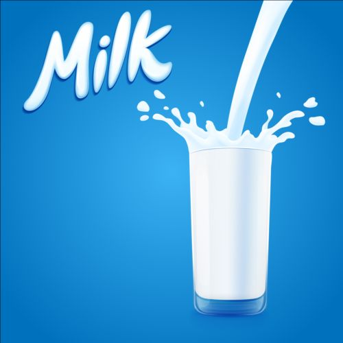 Glass Cup With Milk Vector Vector Food Free Download