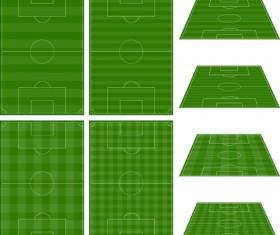 Green football field vector design 03