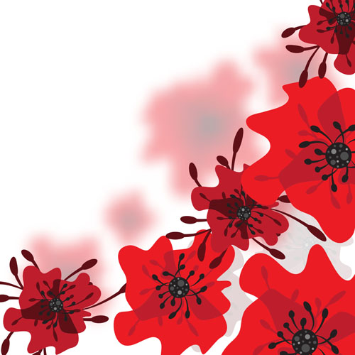 Red Flower Background Pics Flowers Healthy
