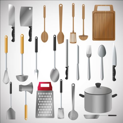 Kitchen Tools Vector The Image Kid Has It