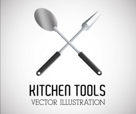Kitchen tools vector illustration set 16