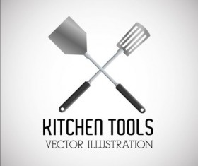 Kitchen tools vector illustration set 17