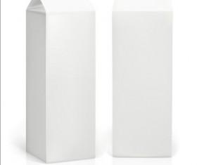 Milk Carton package vectors 01
