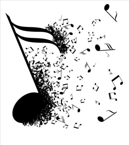 Music Notes Design Elements Set Vector 01