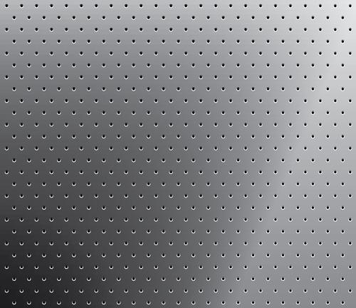 Realistic metal screen vector background 01