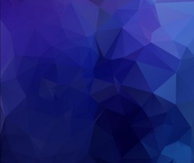 Triangles with geometric polygon vector background 08