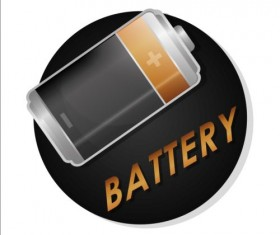 Vector battery charging icons design 05