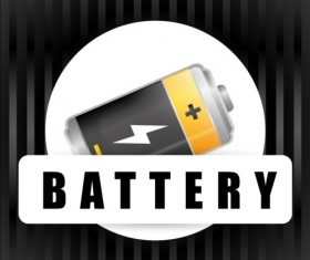 Vector battery charging icons design 06