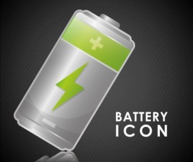 Vector battery charging icons design 07