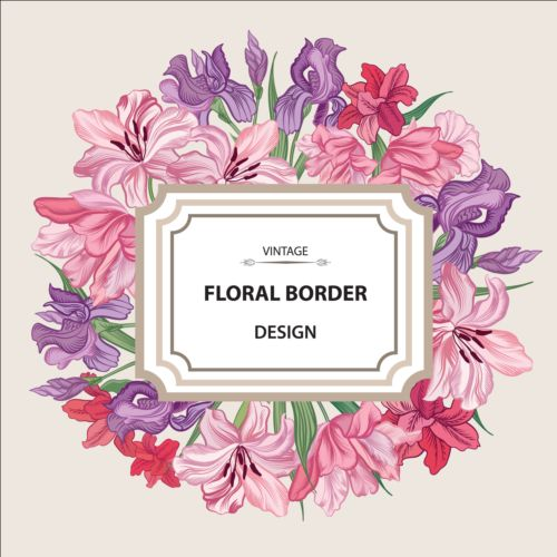 Flower Designs | Free Vintage Art