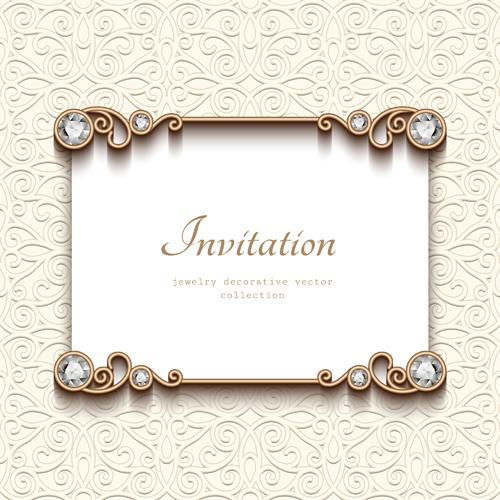Vintage golden frames with diamond invitation vector 01 free download vintage golden frames with diamond invitation vector 01 stopboris Image collections