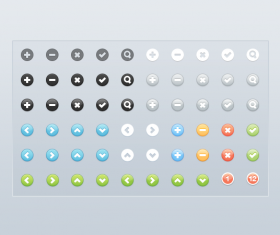 Web Bundle PSD icons set